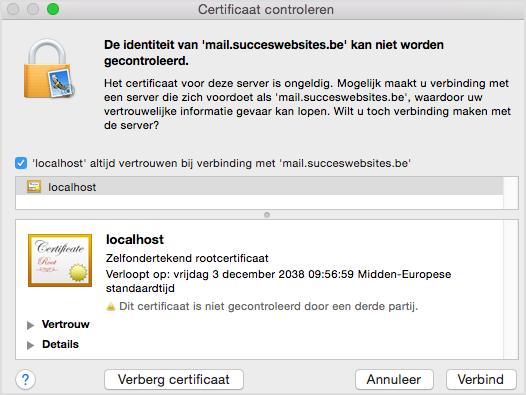 localhost-certificaat